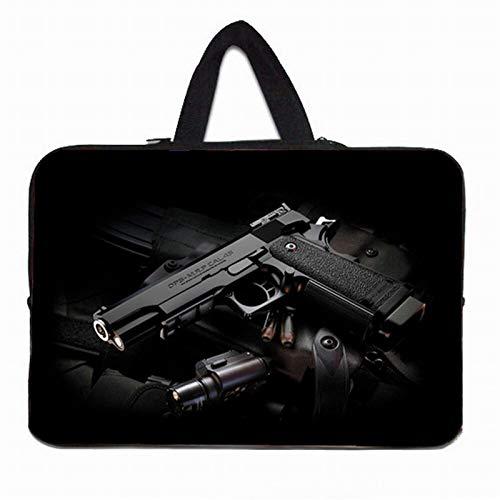 YNLRY Stylish Women's Handle Bag Laptop Sleeve 10 12 13' 11.6 14 15 15.4 15.6 17 Funda Portatil Bolsas Neoprene Chromebook Pouch Case (Color : H026, Size : 13')