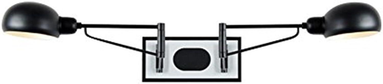 Wandleuchte Wandlampe, moderne Artwandlampe Artwandlampe Artwandlampe justierbare Wandleuchte Eisenwandlampe Schlafzimmerbar-Gaststättecaféclub-Wandlampe Doppelkopf E27 Lampenhalter, die Gesamtlänge von 160CM Originalität b B07K2YR1CB | Economy  8ba017