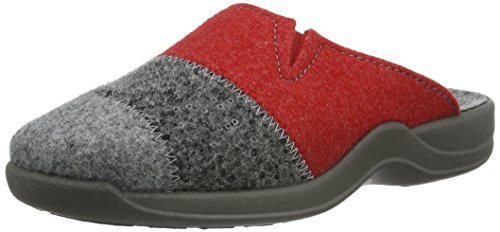 Rohde Vaasa-D, Damen Pantoffeln, Grau (Grau 80), 36 EU