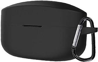 NIDONE Pokrywa ochronna silikonowa kompatybilna z WF-1000XM4 Case Case Shell Black