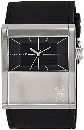 Marc Ecko Reloj Análogo clásico para Hombre de Cuarzo con Correa en Silicona E11528G1