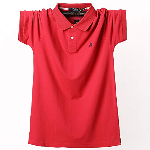 Poloshirt Kurzarm,Baum Des Lebens Sommer Stickerei Schlanke Männer Atmungsaktive T-Shirts Komfortables Hemd Feuchtigkeitstransport Klassisches T-Shirt Büro Golf Tennis Punk Herren Top T-Shirts Klei