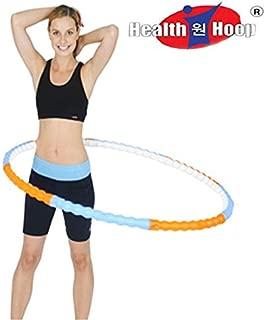 Health Hoop Hula Hoop, New Body Hoola Hoop, Massage Hoop, 2.43lbs (1,1kg)