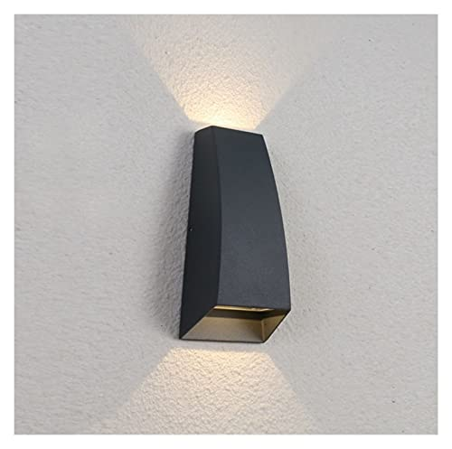 Accesorio de iluminación IP 65 Outdoor Impermeable Luz de pared Moderno Wall Sconence Lights Up Down Soporte Luz IP65 LED Soporte Luz de luz y escalera Luz en antracita Luces de jardín para puerta fro