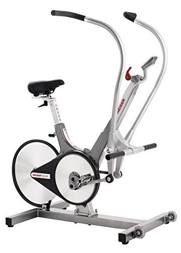 Keiser Total Body Trainer M3 Bicicleta estática número 1 para Entrenamiento Resistencia magnética, Unisex Adulto, Platino, 1320.8 x 736.6 x 1219.2 mm