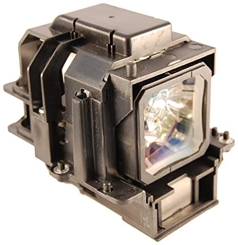 satukeji Bombilla para lámpara de proyector VT75LP VT-75LP para NEC LT280 LT380 LT380G VT470 VT670 VT676 LT375 VT675 con Carcasa