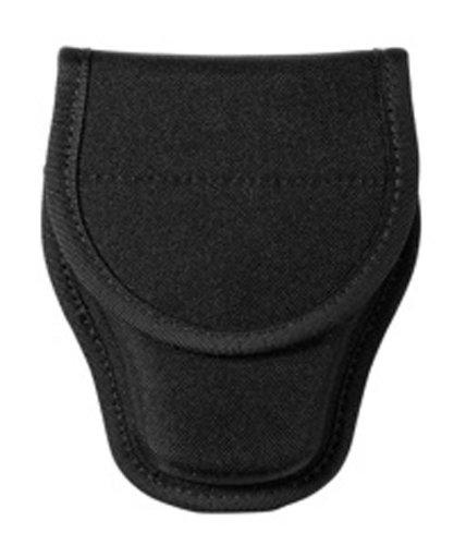 Bianchi Patroltek 8000 Covered Hidden Snap Black Handcuff Case (Size 2)