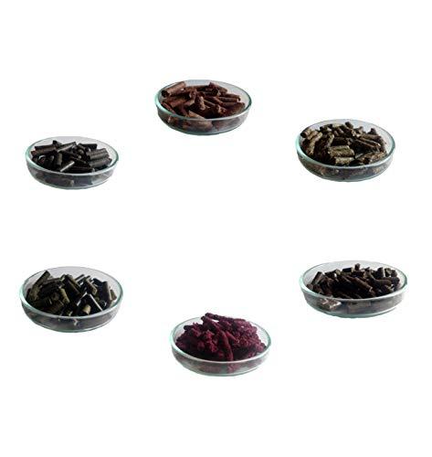 150g Premium Futter Paket 6 Verschiedene Sorten für Garnelen Krebse und andere Wirbellose