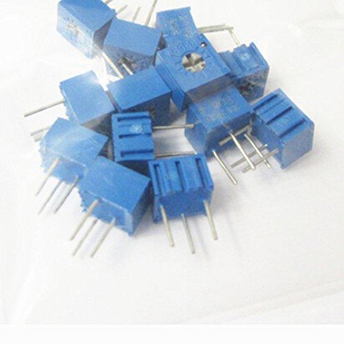 70pcs 3362P einstellbares Potentiometer Cermet Trimmer-Pack 14 Werte