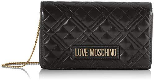 Love Moschino JC4261PP0BKA0, Borsa A Spalla Donna, Nero, Normale