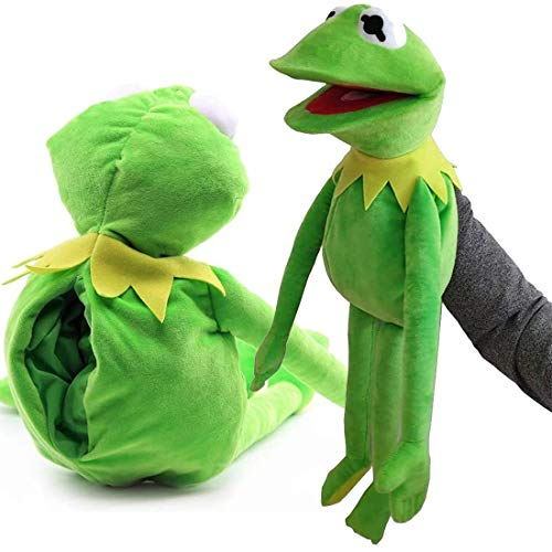 Kermit The Frog Hand Puppet Muppets Toys Performance Doll Christmas Day Children's Educational Toys 60cm