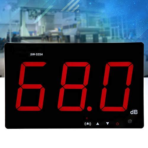 Medidor de ruido, medidor de sonido, medidor de ruido, medidor de ruido SW-525A, medidor de ruido, para oficinas, fábricas, rutas de tráfico, hogares