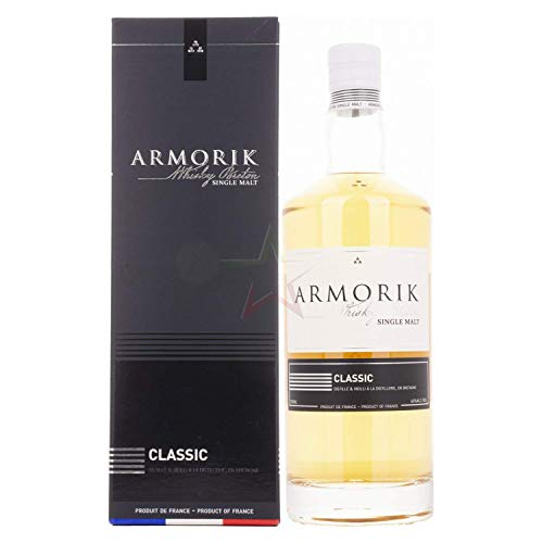 Armorik Classic Single Malt de Bretagne mit Geschenkverpackung (1 x 0.7 l)