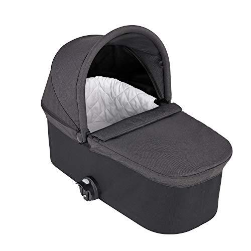 Baby Jogger 2086510 Deluxe - Carrito para bebé con capazo plegable para City Mini (5,996 kg), color negro