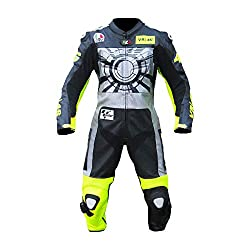 MOTOGPGEARS Valentino Rossi VR 46 Motorrad-Motorrad-Lederkombi (2XL)