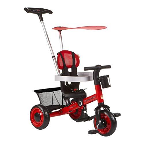SHX ETWL fietsen 4 In 1 baby driewieler, voor 1-3 jaar oud