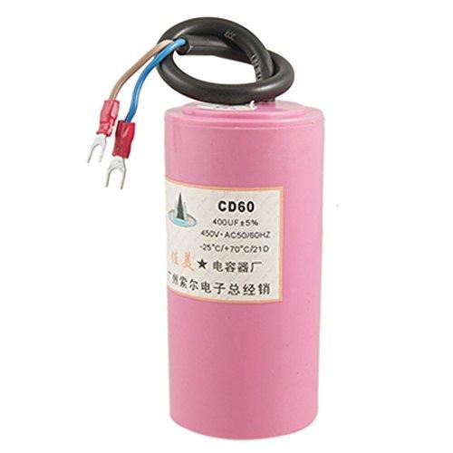 Deal MUX CD60electrolíticos de aluminio de agua Bomba condensador 400uf 5% ac 450V