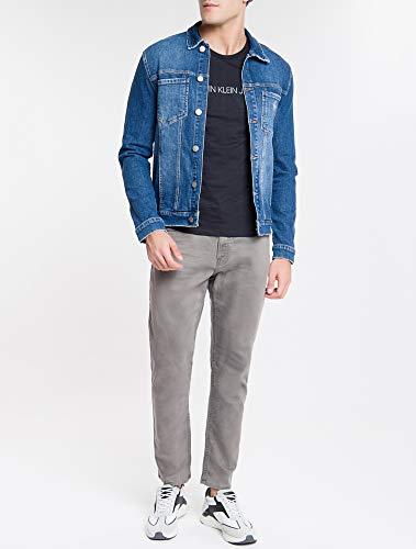 Jaqueta Jeans, Calvin Klein, Masculino, Azul Médio, G