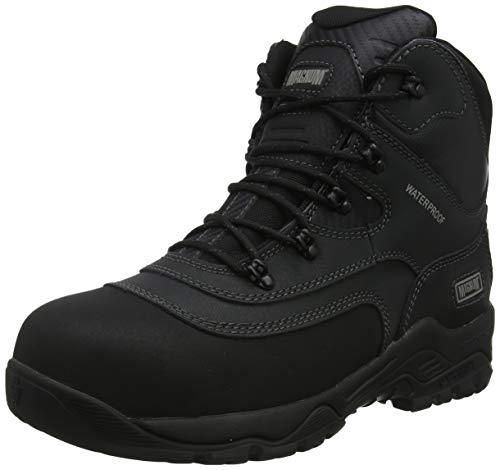 Magnum Unisex Adults' Broadside 6.0 CT CP WP Work Boots, (Black 21), 5 UK 38 EU