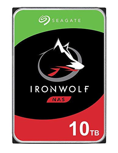 Seagate Technology NAS HDD IronWolf - Disco Duro, 3.5 , 10000 GB, Serial ATA III, 7200 RPM