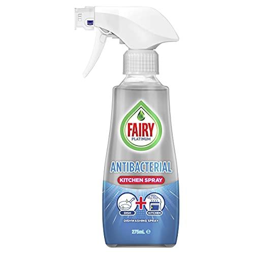 Fairy Platinum Antibacterial Dishwashing & Kitchen Spray, 275 Milliliters