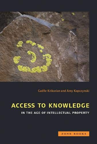 Access to Knowledge in the Age of Intellectual Property (Zone Books)の詳細を見る