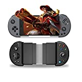 Wireless Mobile Controller Gamepad,PUBG Mobile Controller with Triggers for 3.5-6.5 Inch Android iOS for FPS Games Gamepad