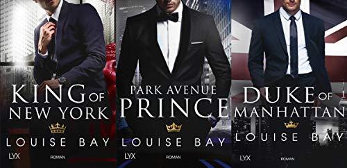 New-York-Royals-Serie Band 1-3 plus 1 exklusives Postkartenset