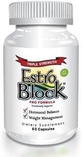 Estroblock PRO Triple Strength - 60 Capsules, DIM & Indole 3-Carbinol for Natural Hormonal Hormone Balance,...