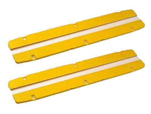 Dewalt DW708 Repuesto de sierra ingletadora (paquete de 4) placa de Kerf # 395672-00-4pk