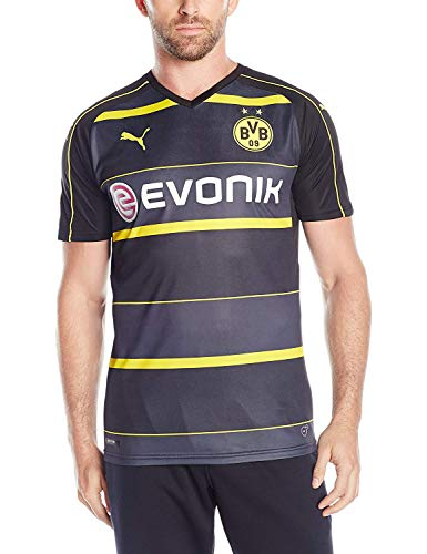 PUMA Mens Borussia Dortmund Licensed Replica Jersey 2016-2017, Medium, Away