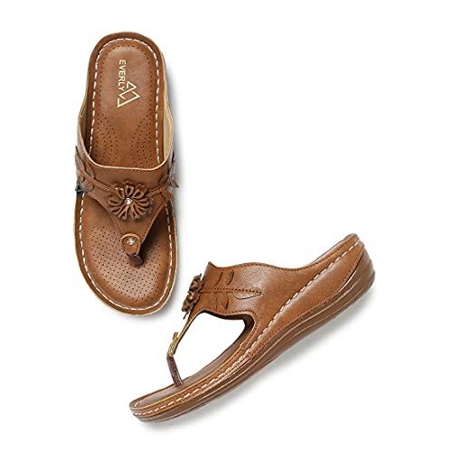 Everly Doctor Ortho Sandal For Women (38) - MNS6037MNT38
