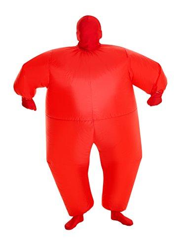 Loftus International MorphCostumes Red MegaMorph Kids Inflatable Blow Up Costume - One Size (MCKIRE)