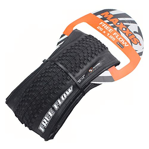BUCKLOS MAXXIS M350P 26/27.5 Fold MTB Tire, Puncture Resistant Mountain Bike Tires, Tubeless 60TPI Non-Slip Black Performance Bicycle Tire