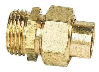 Manchon /à visser m/âle Raccords Diam/ètre 14 mm Filetage 15 x 21 mm Vendu par 1