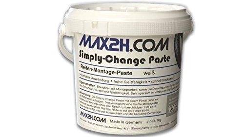MAX2H.COM Montagepaste zum Reifen wechseln, 1kg