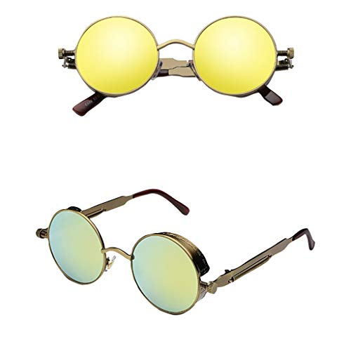 Occhiali Da Sole Retrò Vintage Donna Uomo Steampunk Vogue Occhiali Da Vista Occhiali Photo Props Occhiali Da Sole Toy Sunglasses Cat Eye Sunglasses Visor Eyewear