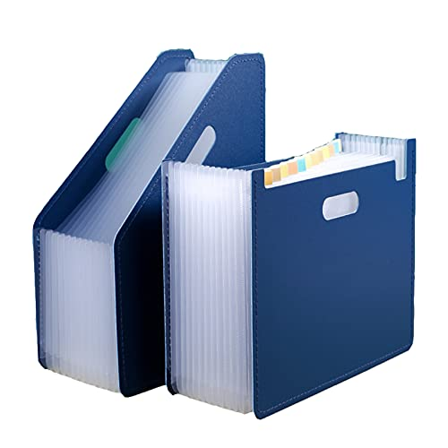 Carpeta de Bolsa de órgano portátil, tamaño A4, portátil, 13 Bolsillos, Impermeable de múltiples Capas, Utilizado para almacenar Materiales de Aprendizaje, Materiales de Oficina