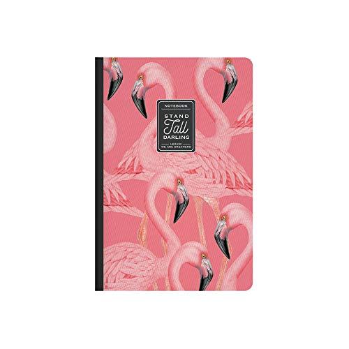 Legami A5NOT0029 Notizbuch Weiß, Blatt A5, Flamingo