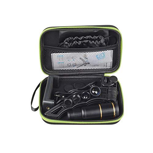FiedFikt 16X Telephoto Fisheye Breedhoekige Universele Externe Mobiele Telefoon Lens Externe Telefoon Camera Externe Lens Telelens Breedhoeklens Macro Lens