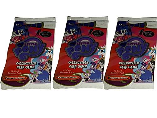 マイリトルポニー トレーディングカードゲーム 3パックセット