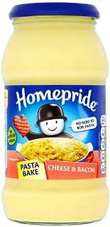 Homepride Cheese & Bacon Pasta Bake Sauce 500g