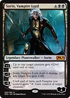Magic: The Gathering - Sorin, Vampire Lord - Foil Planeswalker Deck Exclusive - Core Set 2020