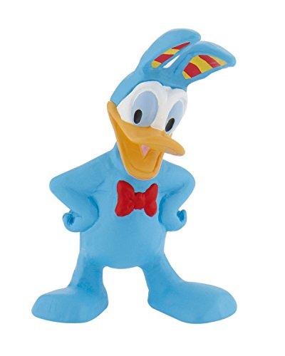 Bullyland 15427 - Spielfigur, Walt Disney - Donald Duck - Ostern, ca. 5,5 cm