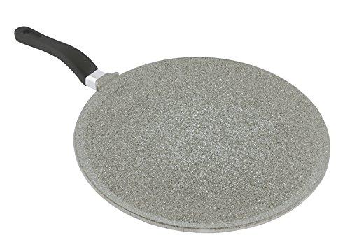 mopita 24cm/24cm sartén para crepes de aluminio fundido antiadherente, Medio, Gris