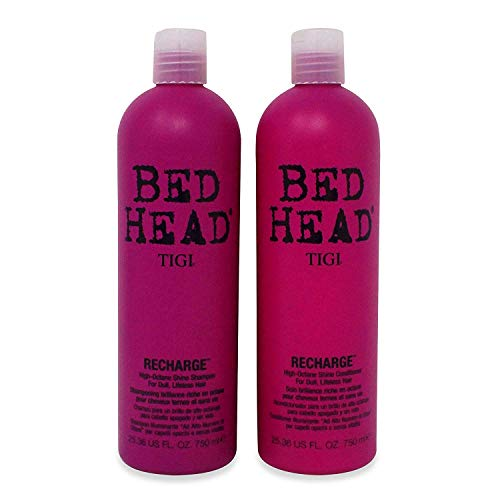 Bed Head by TIGI Recharge Champú 750ml + Acondicionador 750ml