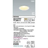 コイズミ LED防雨防湿ダウン AD51797