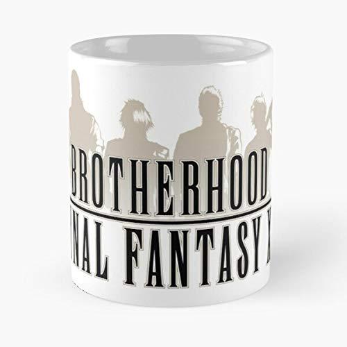 5TheWay Xv 15 Brotherhood Ff15 Ff Ffxv Fantasy Final - Best 11 oz Kaffeebecher - Nespresso Tassen Kaffee Motive