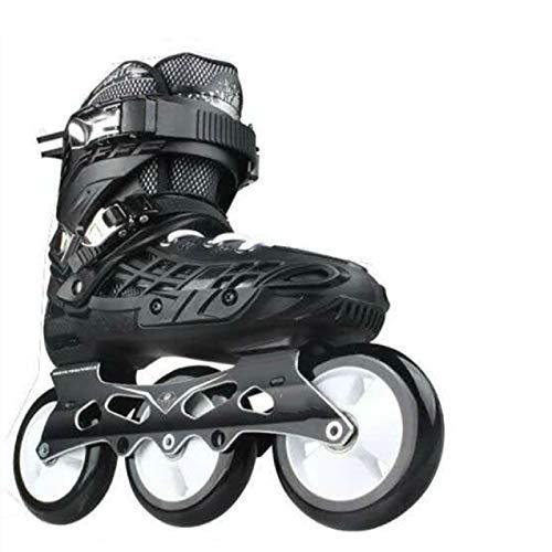 SENFEISM Sicherheits-Inlineskates Schuhe mit modischen, flachen Marathon-Roller-Speed-Sneaker-Schuhen für Erwachsene