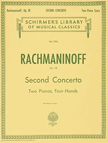 Concerto No. 2 in C Minor, Op. 18: Schirmer Library of Classics Volume 1576 Piano Duet (Schirmer's Library of Musical Classics)